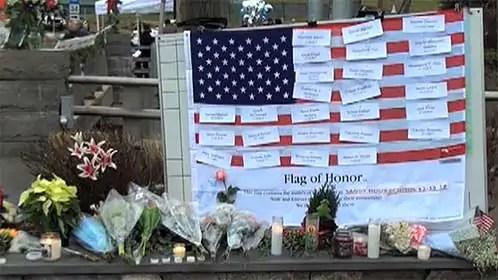 Newtown Memorial See Something Scary? Look for Helpers!