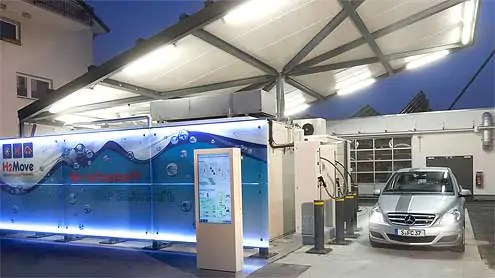 Hydrogen-Fuel-cell-Station