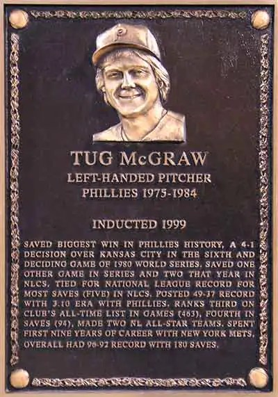 Tug McGraw Baseball