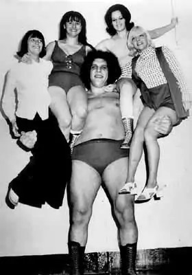 Andre the Giant Giants