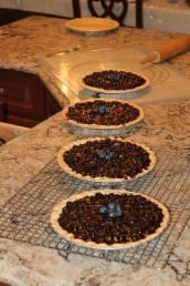 Blueberry Pies for Church Fair, June 2014