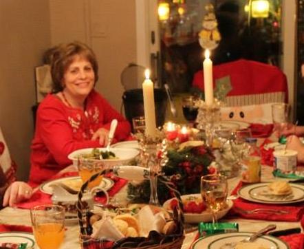 2013 Christmas Table