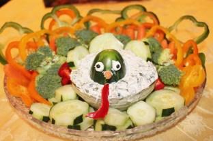 Turkey Vegetable Platter