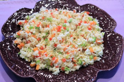 Basmati Rice with Minced Vegetables