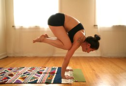 yoga voguing: july 2013