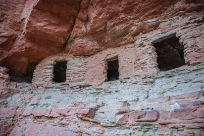 Nankoweap Granaries in Grand Canyon