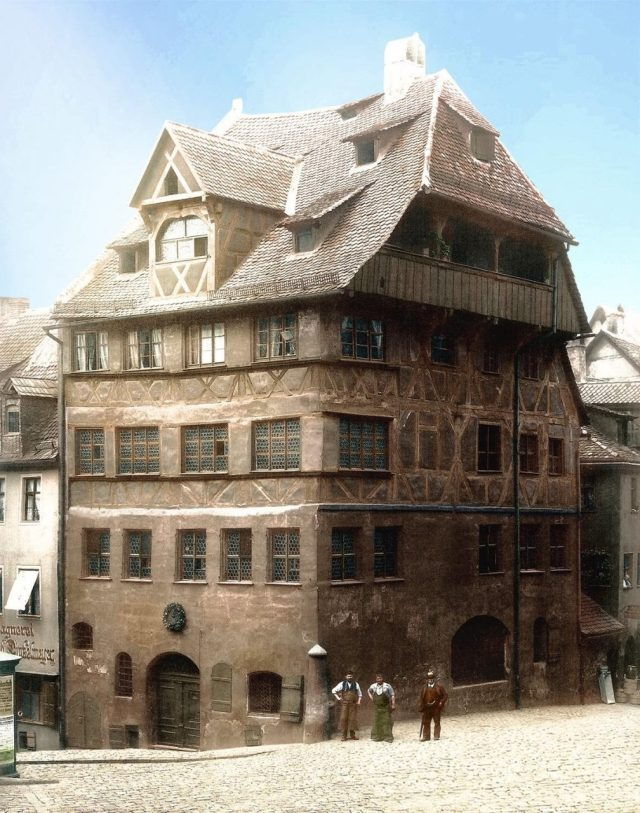 Albrecht Duererhaus, Nuremburg 1898