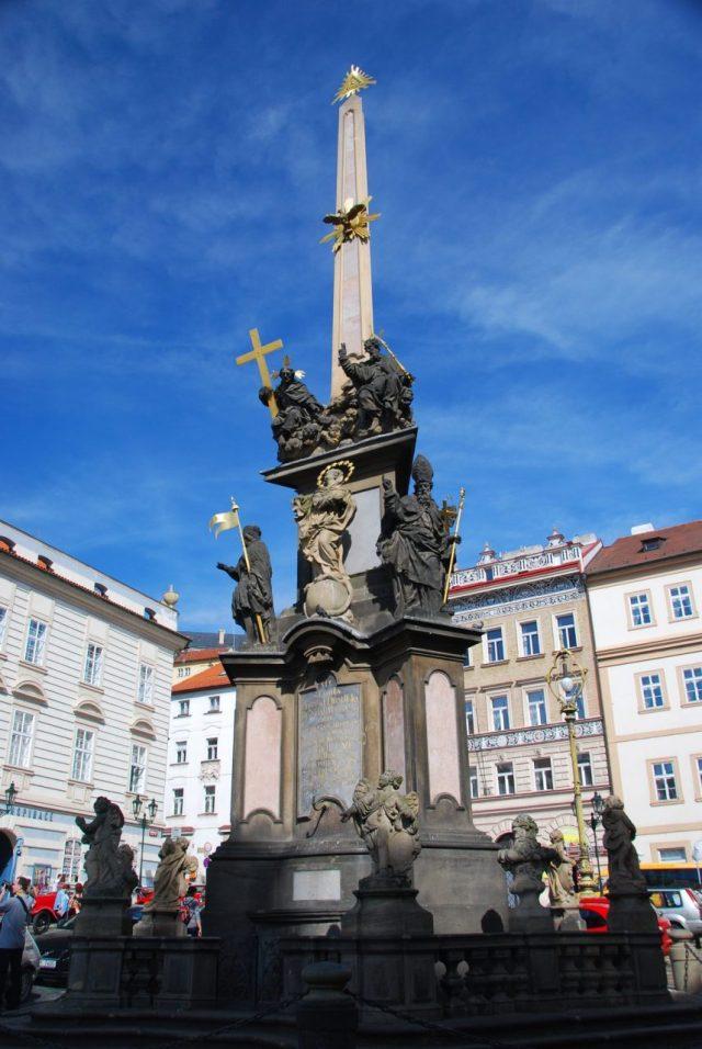 Prague, Prag fountain