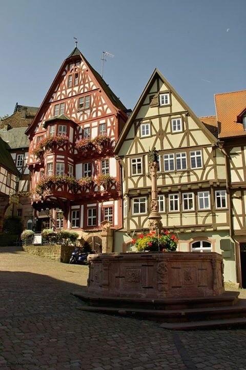 Miltenberg, German half timbered Style Homes, Fachwerk