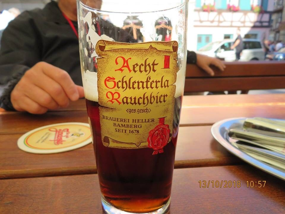 Bamberger Rauchbier, smoked Beer