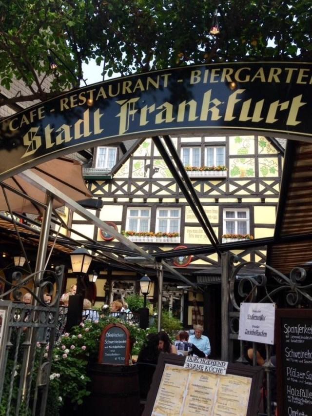 Stadt Frankfurt Restaurant Ruedesheim am Rhein
