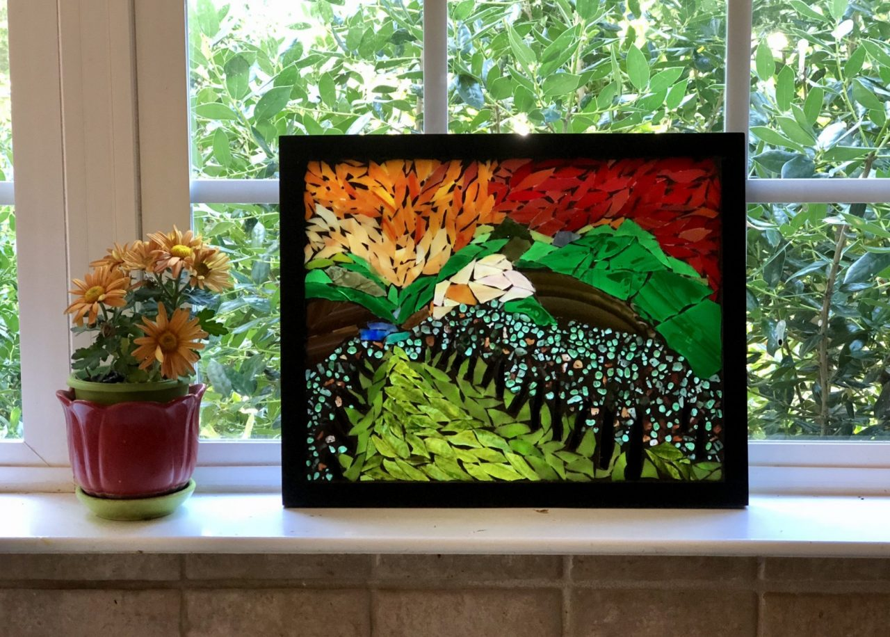 Vineyards Glass Mosaic-GermaniaDesign.com