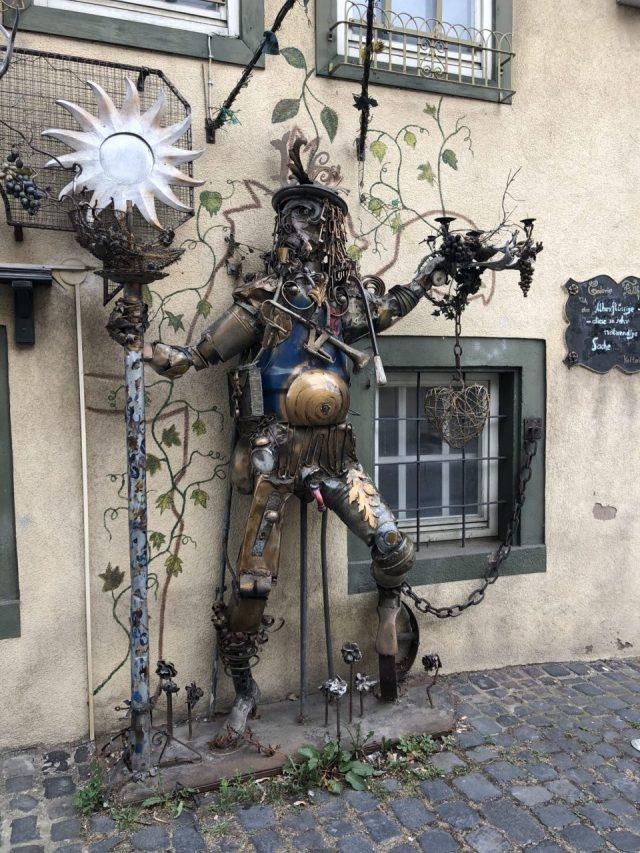 Sommerhausen, Lower Franconia sidewalk art