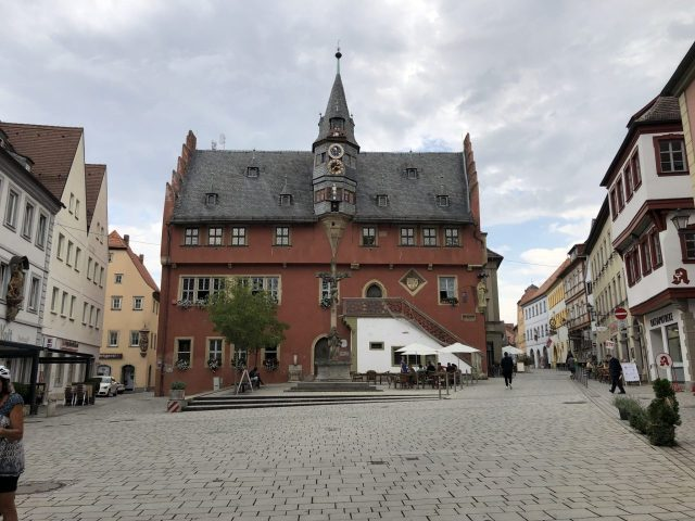 City Hall Ochsenfurt, Lower Franconia