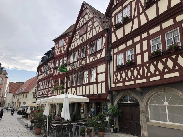Ochsenfurt half-timbered homes