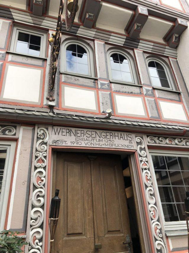 Limburg an der Lahn, Werner Senger Haus, Fachwerk, timber style homes