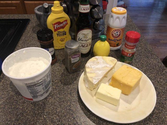 Kochkäse or Beer Cheese, Bier ingredients