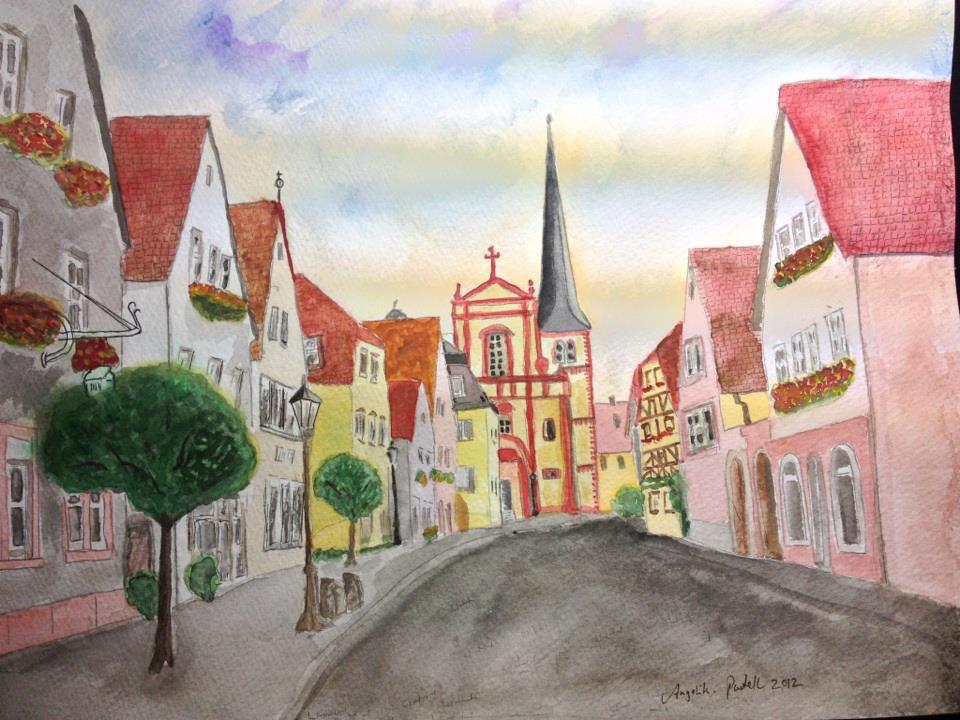 Veitshöchheim Altort painting