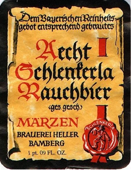Bamberger Rauchbier (Smoked Beer), Altes Schenkerle