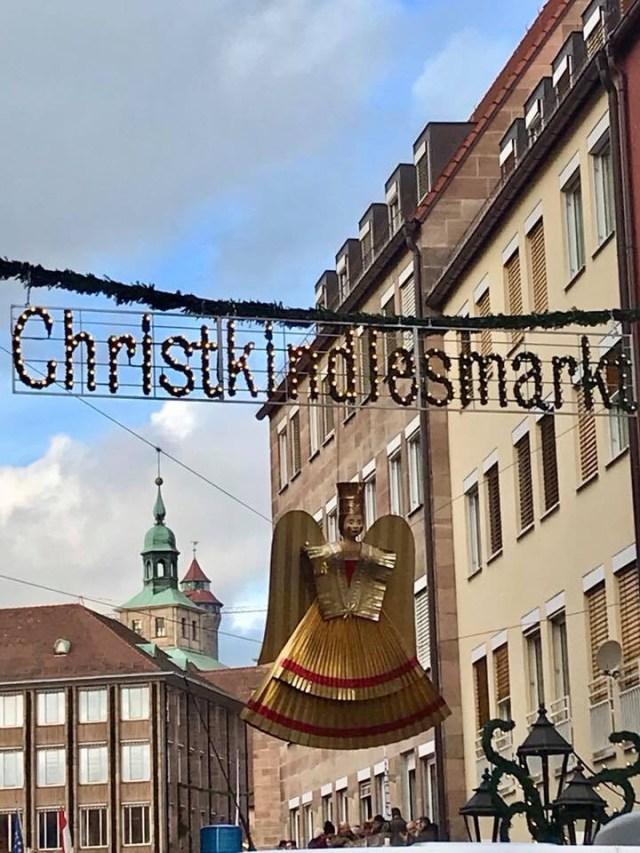 Christkindlmarkt Entrance Nuernberg