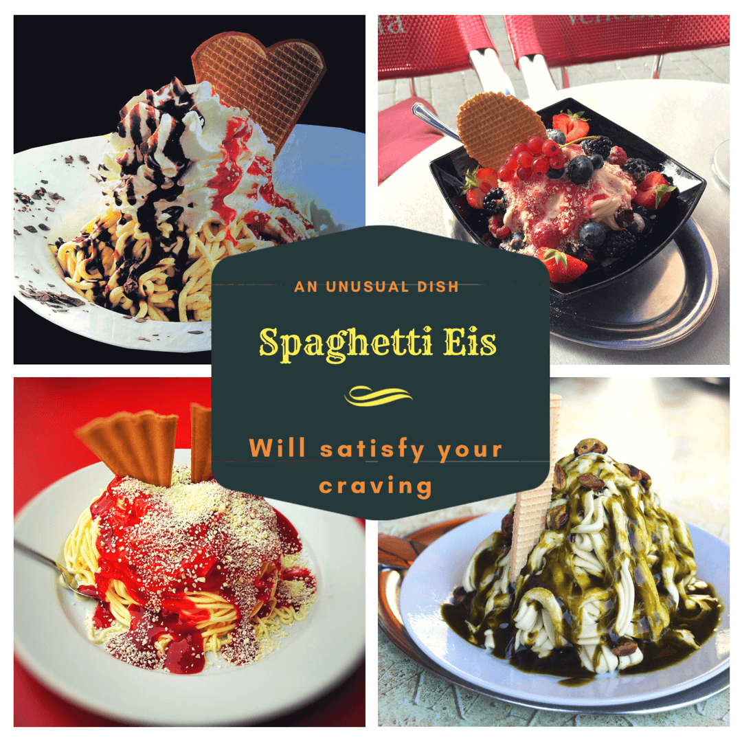 German Ice cream, Spaghetti Eis