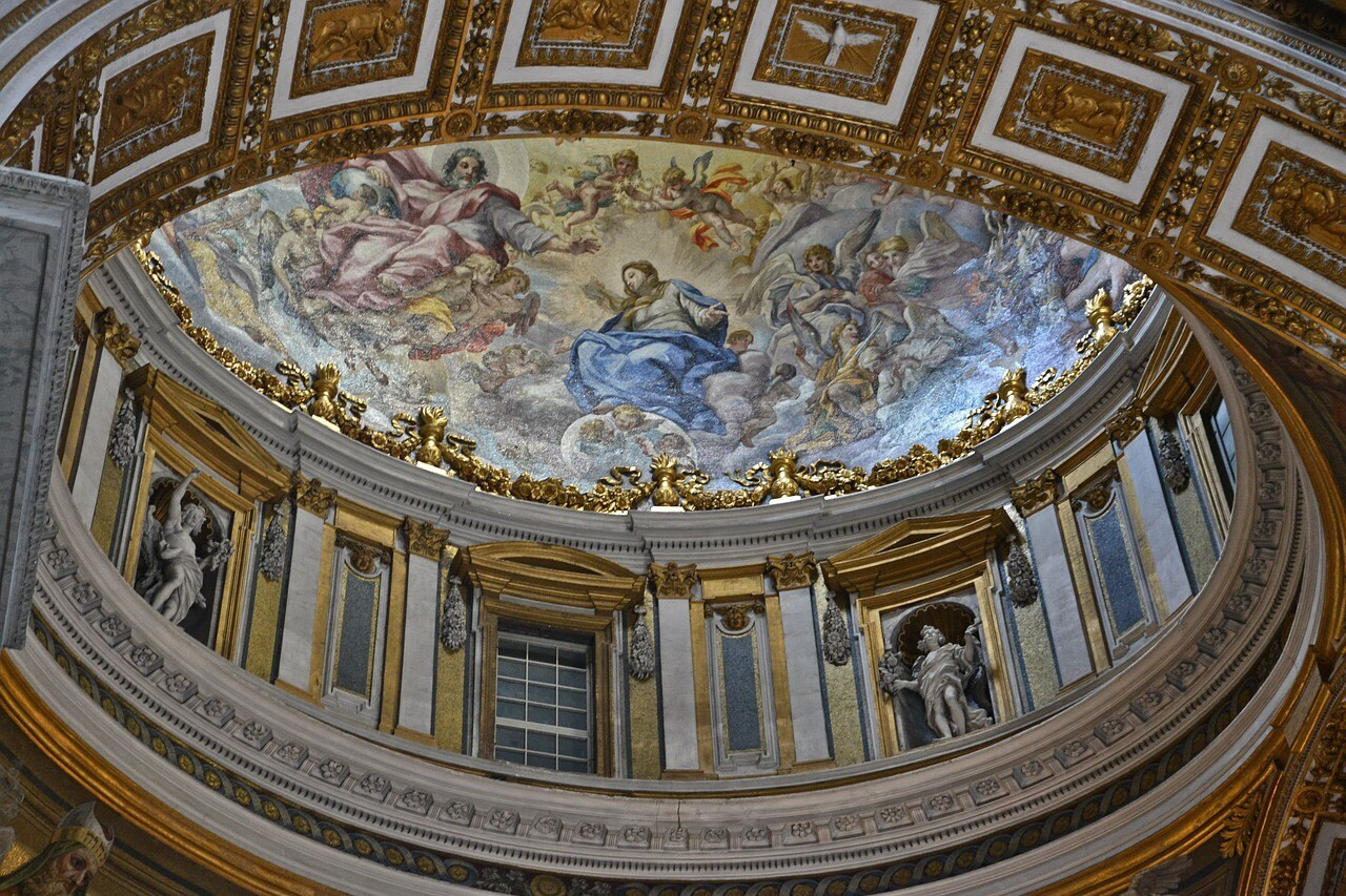Ceiling Paintings or Fresco