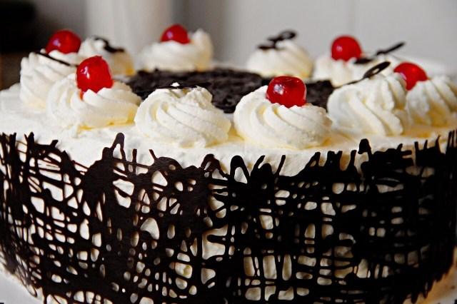 Black Forest cake, Schwarzwaelder Kirschtorte