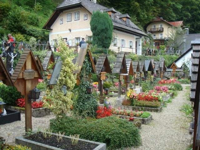 Cemetery, Hallstatt, Austria