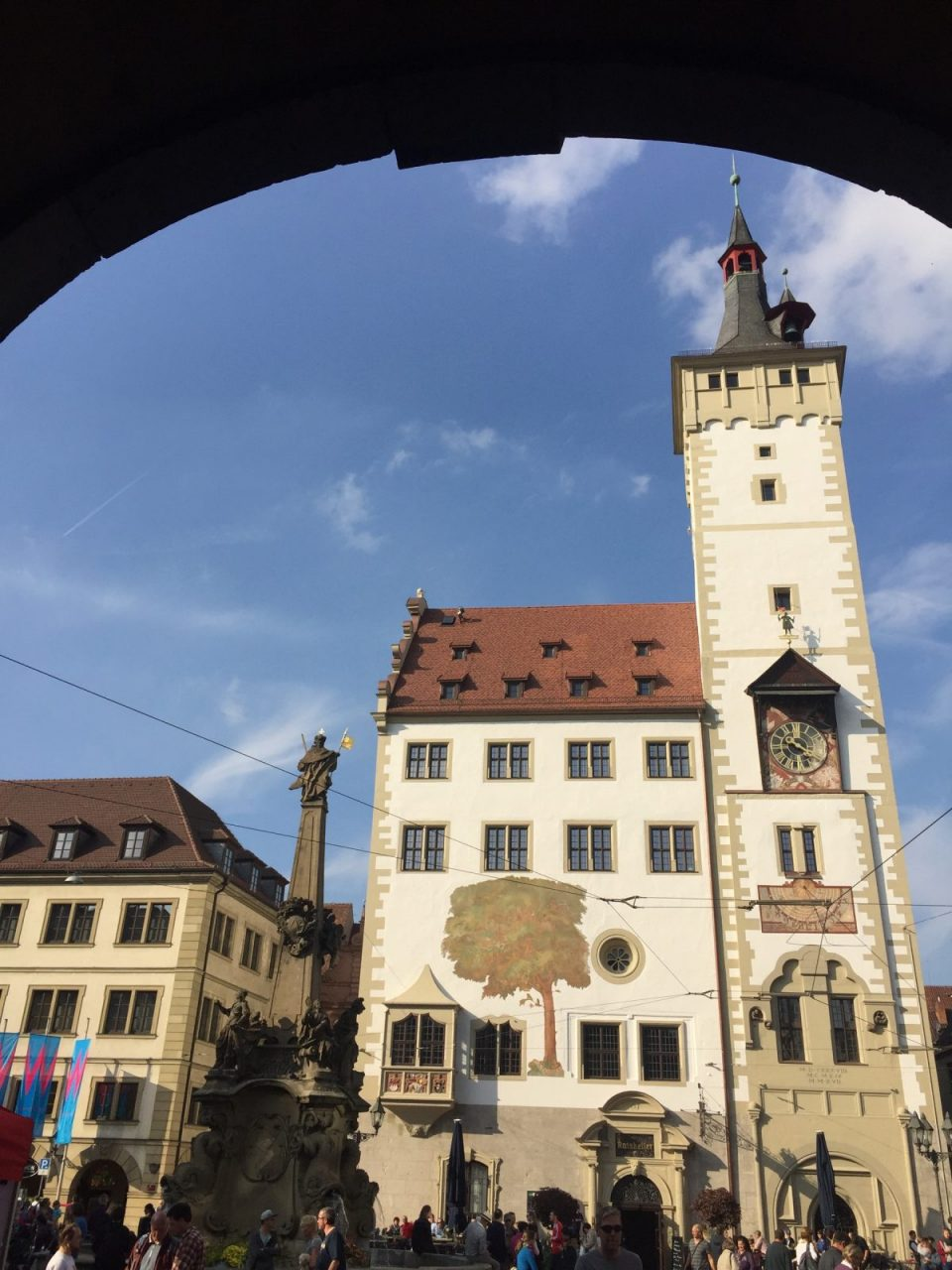 Wuerzburg Rathaus. City hall