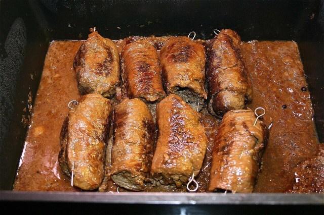 Beef Rouladen, German Rouladen recipe
