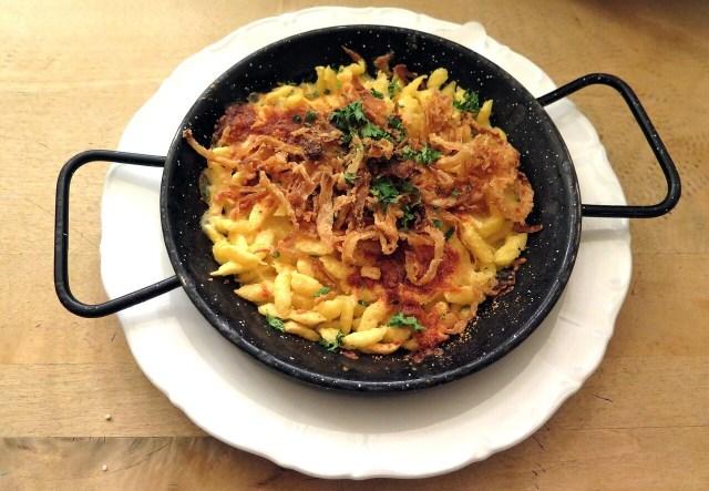 Austrian Cheese Spaetzle, Käsespätzle,