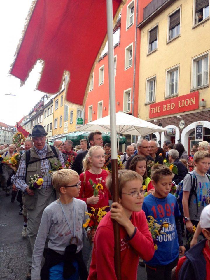 Zwiebelkirchweih, Stadt Mainz Wuerzburg, Pilgrims