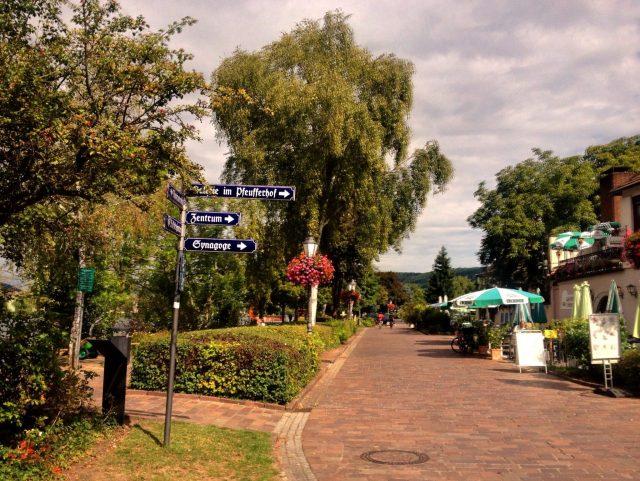 Veitshoechheim Main river walk