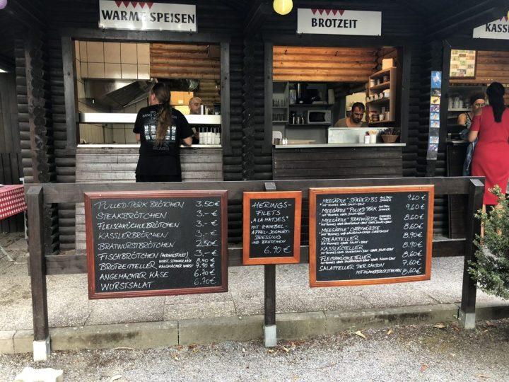 Veitshöchheim Maingärtle Biergarten menu