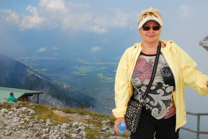 View to Salzburg, Austria
