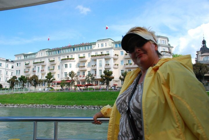 Sacher Hotel, Salzburg, Boat ride on the Salzach
