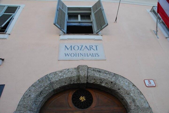 Mozart Wohnhaus in Salzburg