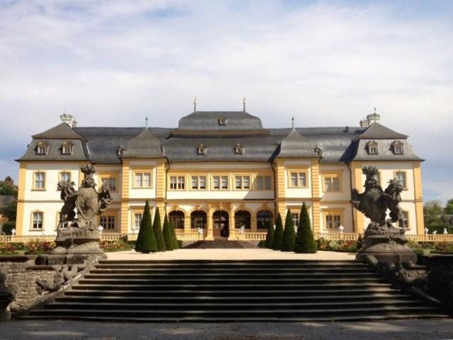Veitshöchheim Hunter castle, Hofgarten