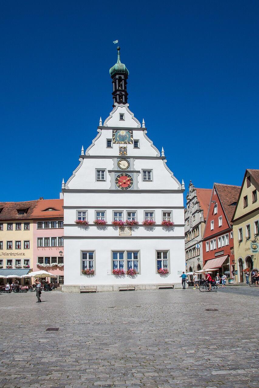 Rothenburg City Hall, Rothenburg Rathaus, astronomical clock