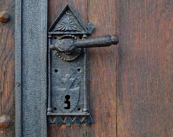 Historic door knobs