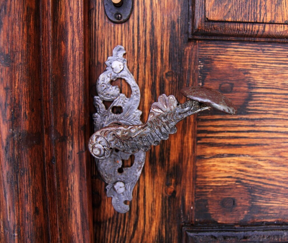 Historic door knob, Tuerklinke