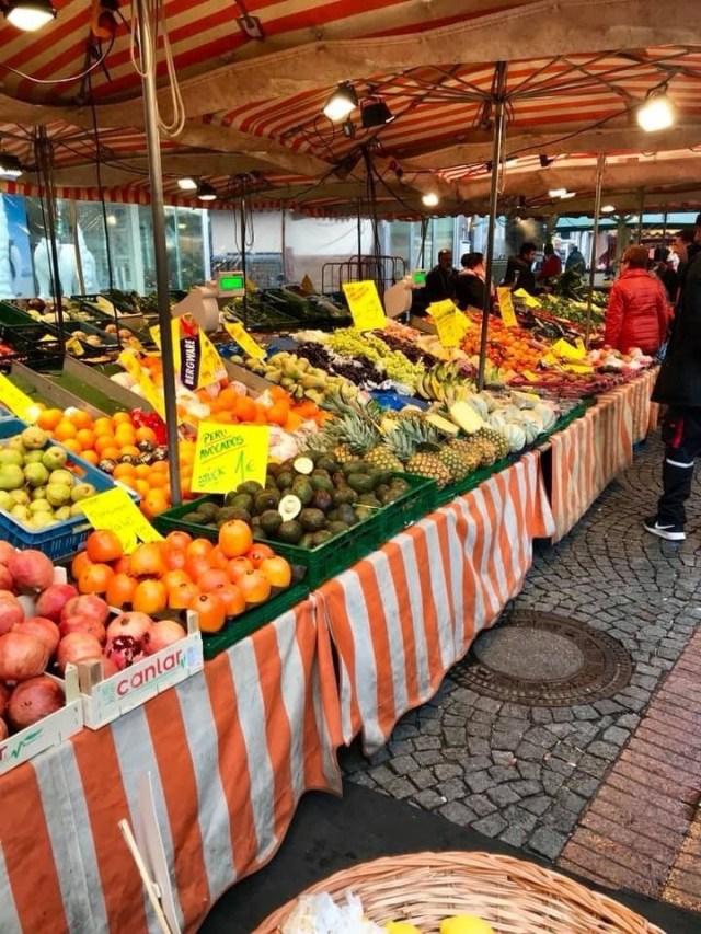 Fruits at a German Marktplatz