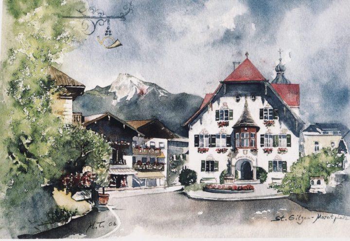 Sankt Gilgen Postcard