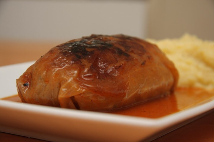 Stuffed cabbage, Kohlroulade