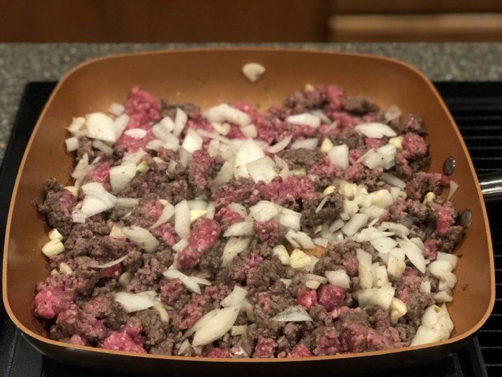 Moussaka, Greek dish preparation