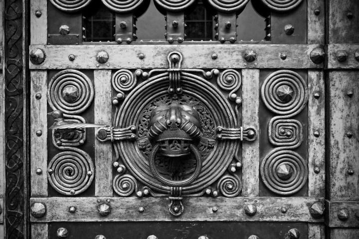 Historic door handles, knobs and pulls