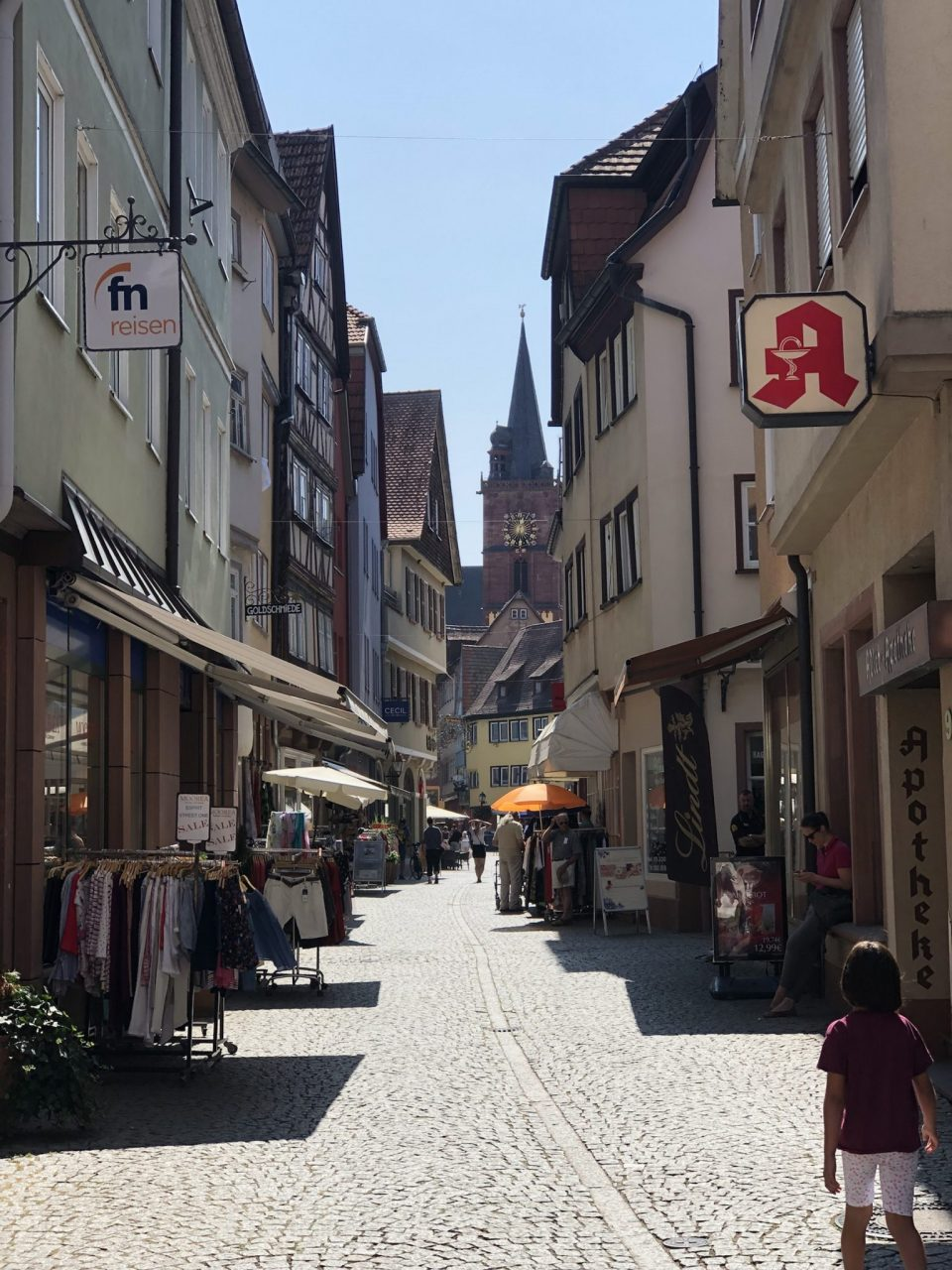 Wertheim shopping