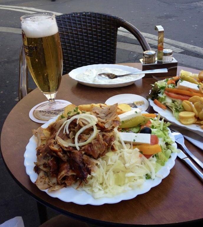 Doener, Turkish and German street food