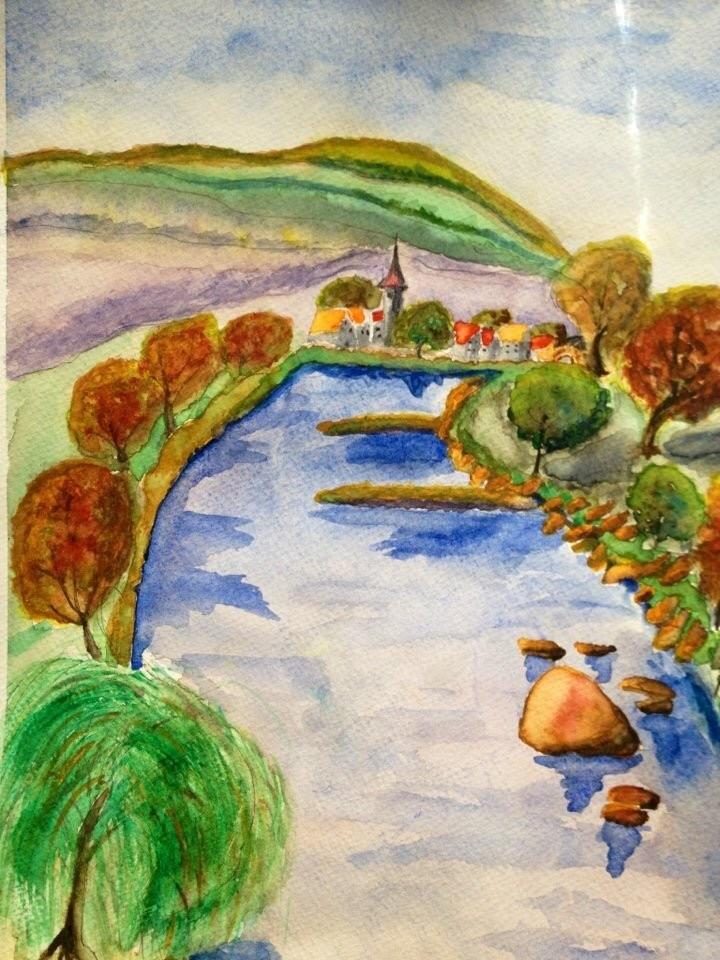 Franconian Scene Painting