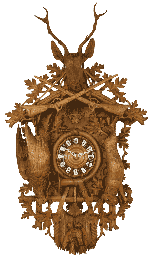 Cuckoo clock, Black Forest